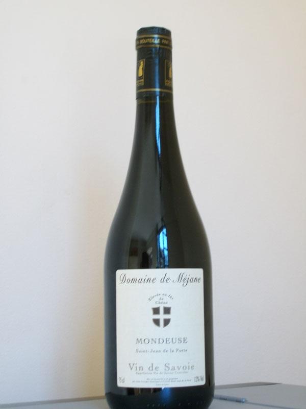 Mondeuse vieillie en fût de chêne vin rouge