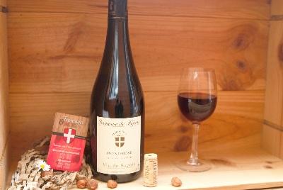 vin rouge mondeuse