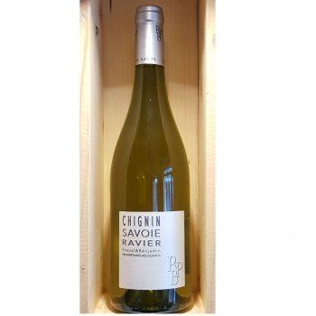 Vin blanc sec de Savoie Chignin Ravier