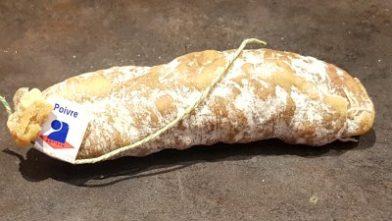 Saucisson sec au poivre - Saucisson de Savoie