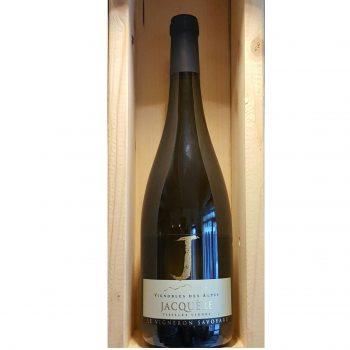 Vin blanc de Savoie Jacquère vieilles vignes Chautagne