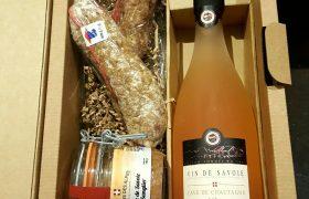 Coffret Rosé charcuterie de Savoie