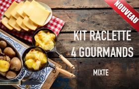 Kit raclette mixte 4 personnes