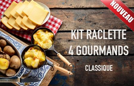 Kit raclette classique 4 personnes