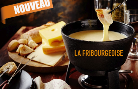 Pack fondue Fribourgeoise 4 personnes