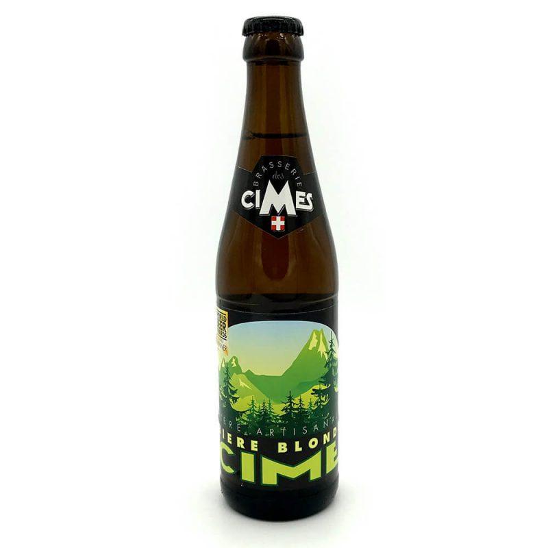 Bières blondes les cimes