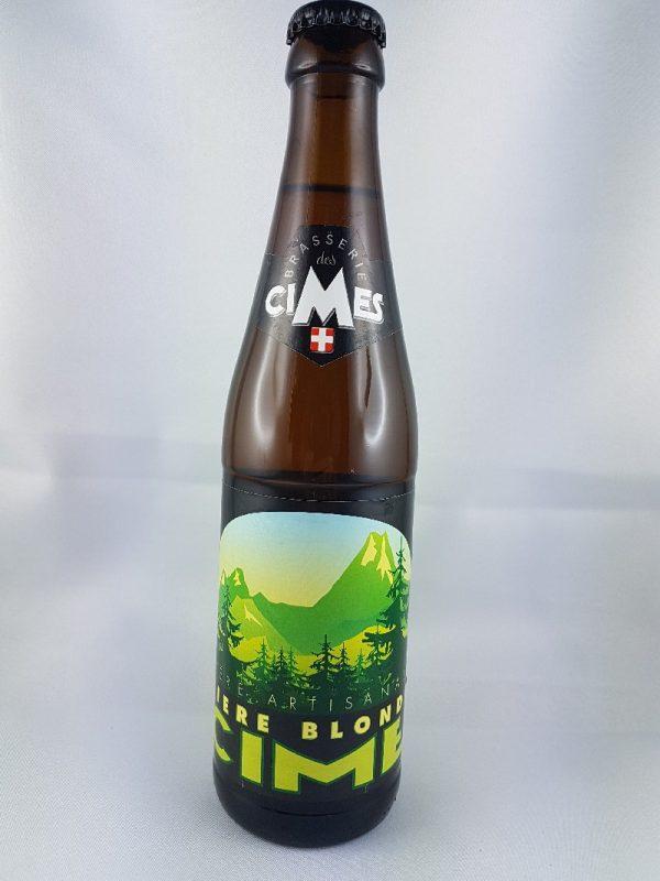 Bieres blondes les cimes