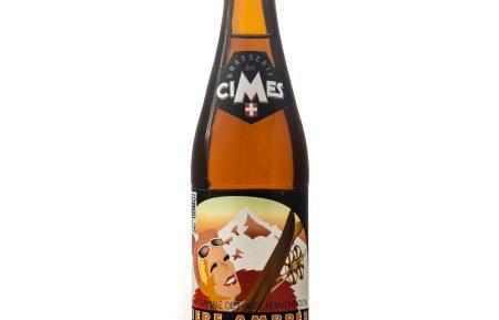 Bière piste noir ambrée