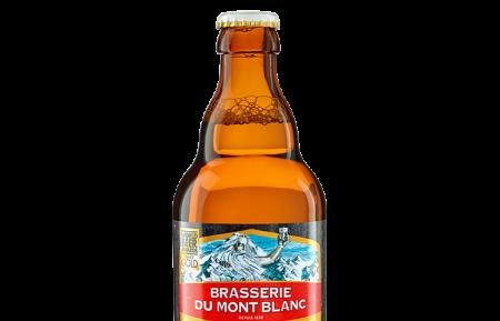 Biere blonde mont blanc 33 cl