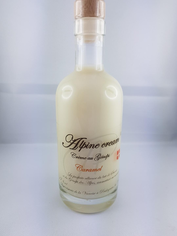 Alpine Cream Génépi caramel 35cl 17°