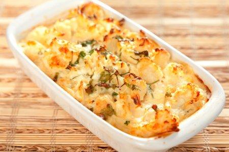Gratin de chou-fleur et pommes de terre - La recette idéale