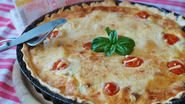 Quiche au fromage façon parmesan